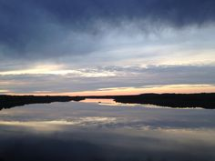 Bell River at Sunset, Quebec, Canada. AS2014 Copyrights.