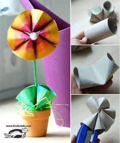 Paper roll flower  visit my shop  www.chrissystuff.com