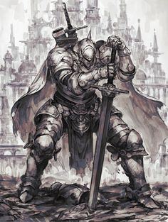 D D Characters, Fantasy Characters, Fantasy Character Design, Character Art, Character Illustration, Illustration Art, Arm Armor, Robot Art, Free Anime