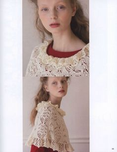 """Photo from album """"Let's Knit Series 06 Couture Knit"""" on Yandex. Japanese Books, Book And Magazine, Handicraft, Diy And Crafts, Flower Girl Dresses, Couture, Knitting, Wedding Dresses, Crochet"""
