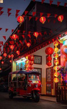 Chinatown, Chiang Mai, Thailand