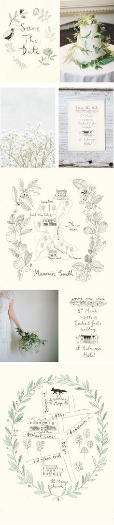Katt Frank Wedding design.