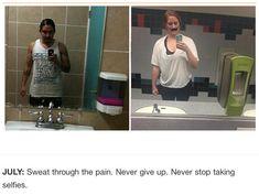 une femme imite les selfies de l homme qui detient son telephone portable 7   Une femme imite les selfies de lhomme qui a son portable   vol...