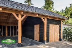 Carport Garage, Garage Plans, Shed Plans, Garage Shelf, Shed Design, Garage Design, Porches, Wooden Carports, Carport With Storage