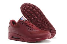 release date: aebaf ea6b6 All Winered Nike Air Max 90 Hyperfuse QS Womens Shoes