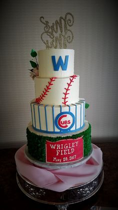 Astonishing 32 Best Chicago Cubs Cakes Images Cubs Cake Chicago Cubs Cake Personalised Birthday Cards Paralily Jamesorg
