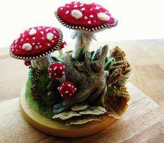 Mushroom pincushion/sculpture | Flickr - Photo Sharing!