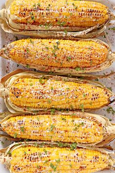 Get the perfect grilled corn on the cob anytime you want with this really simple recipe.   www.foxyfolksy.com #corn #barbeque #grilling #summerrecipes #cincodemayo #sidedish