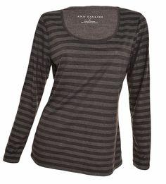 Ann Taylor Embellished Long Sleeve Tee Shirt TShirt Polka Dot Striped Studded #AnnTaylor #KnitTop #Career