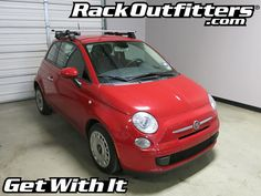Rack Outfitters - Fiat 500 Thule Rapid Traverse SILVER AeroBlade Roof Rack '11-'15*, $604.80 (http://www.rackoutfitters.com/fiat-500-thule-rapid-traverse-silver-aeroblade-roof-rack-11-15/)