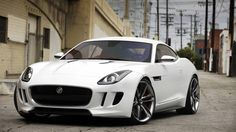 2014 Jaguar F-Type Coupe....quite possibly my next car!!