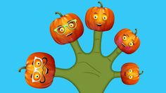 The Finger Family Pumpkin Family Nursery Rhyme | Pumpkin Finger Family S...