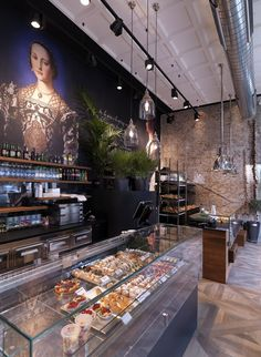 binario-11-milano, shop concept, interior style, idea, cafe, bakery, baroque