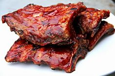 Barbeque Ribs | Dinners, Dishes, and Desserts