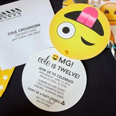 Emoji Party Printabl