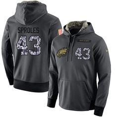 NFL Men s Nike Philadelphia Eagles  43 Darren Sproles Stitched Black  Anthracite Salute to Service Player 54ed77b83