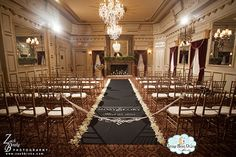 Aisle Runners, Wedding Aisle Runner, Custom Aisle Runner, Black Aisle Runner with Monogram on Quality Fabric that Won't Rip or Tear on Etsy, $270.00