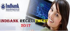 Jobs  Indian Bank Recruitment-Assistant Vice President & Secretarial Officer-20 Vacancies-Apply Online-last date 28 February 2017  AAI Job Details :  Post Name : Junior Assistant (Fire Services) No. of Vacancy : 147 Posts Pay Scale : Rs. 12500-28500/- Eligibility Criteria :  Educational Qualification : For more details click: