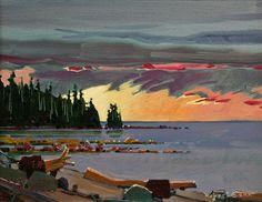 Langara Late Light, Langara Island, Q.C.I., by Robert Genn