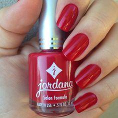 Holiday Red by Jordana Red Polish, Nail Polish, Jordana Lipstick, Polish Holidays, Makeup Blog, Holiday Nails, Red Nails, Nail Designs, Purple