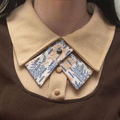 Trendy How To Sew Shirt Collar Diy Fashion Ideas Fashion Details, Diy Fashion, Womens Fashion, Fashion Design, Origami Fashion, Fashion News, Chanel Couture, Collar Designs, Mode Vintage