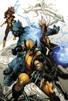 Wolverine and the X-Men by Simone Bianchi and Frank Martin
