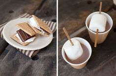 Hot Cocoa and S'mores