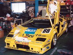 My Dream, Countach: Photo Road Race Car, Race Cars, Le Mans, Gt Cars, Sports Car Racing, Car Tuning, Vintage Racing, Custom Cars, Cars Motorcycles