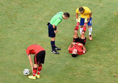 Rafael Marquez Photos: Brazil v Mexico: Group A This is why I can't help but love Neymar.