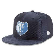 8a9700448de Men s Memphis Grizzlies New Era Navy 2017 NBA Draft Official On Court  Collection 59FIFTY Fitted Hat