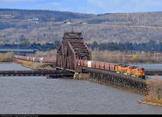 RailPictures.Net Photo: BNSF 6306 Burlington Northern Santa Fe GE ES44AC at Superior, Wisconsin by Dave Schauer