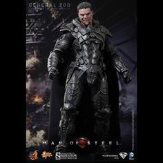 SUPERMAN MAN OF STEEL GENERAL ZOD. Product Code / Upon confrontation with Superman, General Zod proves to be a formidable opponent and engages in intense battle across the city during the climax of the movie. General Zod, Superman Action Figure, Action Figures, Gi Joe, Michael Shannon, Superman Man Of Steel, Black Costume, Kevin Costner, Sideshow Collectibles