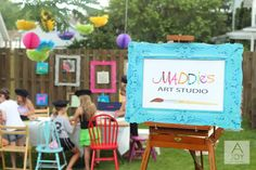 celebraTORI: Art-Themed Birthday Party - ediTORIal by Tori Spelling