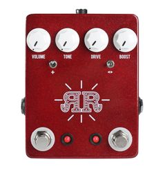 JHS Ruby Red Butch Walker Signature Model Pedal
