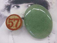 Adventurine Large Polished Cabochon 39x31mm by dimestoreemporium, $12.00
