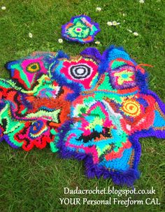 Dada Neon Crochet: YOUR Personal Freeform CAL! - Week 1