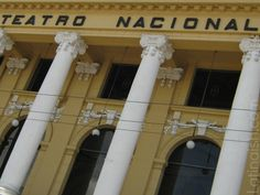 Teatro Nacional in San Salvador, El Salvador - (other photos and stories of El Salvador if you click through to blog post.) #ElSalvador