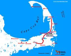 Cape Cod Rail Trail - 25 miles from Dennis to Wellfleet.  Bucket List ....Check!