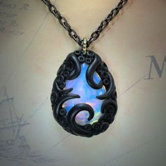 Tentacled Opalite Necklace (reflective)