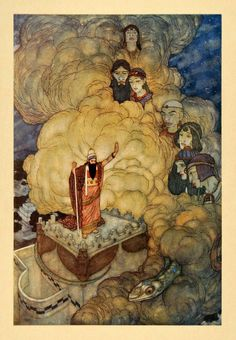 Edmund Dulac, Arabian Nights, 1907