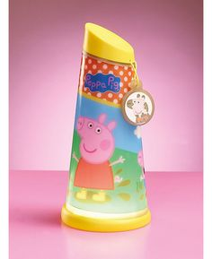 The Peppa Pig Go Glow Night Beam Tilt Torch Light is a  2 in 1 magical motion activated torch that also features a soft glow night light. Free UK delivery available