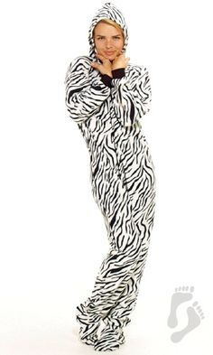 2 piece adult footsie pajamas