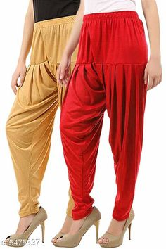 Ethnic Bottomwear - Patiala Pants Stylish Women's Patiala Pants Fabric: Cotton Viscose Size: XL - 34 in  XXL - 36 in  Length: Up To 40 in Type: Stitched Description: It Has 2 Pieces Of Women's Patiala Pants Pattern: Solid Country of Origin: India Sizes Available: 32, 34, 36, 38, 40, 42, 44, 46   Catalog Rating: ★3.9 (238)  Catalog Name: Women Patiala Pants CatalogID_816789 C74-SC1018 Code: 373-5475327-609