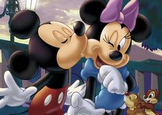 D-108-706 Tenyo Disney Japan Jigsaw Puzzles Mickey Minnie Mouse