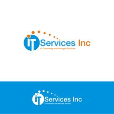 Logo for IT services Inc by girl_juwon