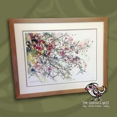 Here we have a beautiful print by Darren Woodhead. I really like the way the customer chose to frame this, with an elegant double mount, simple waxed oak frame and 'invisible' Artglass. It's given the framing a very gentle, natural feel that perfectly compliments the artwork.  You can find out more about Darren and his work at http://darrenwoodhead.com/