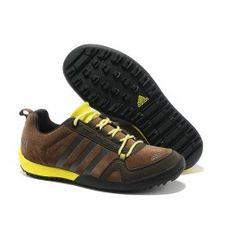20954a4e20ae Adidas Daroga Two 11 Shield Herre Sko Brun Gul