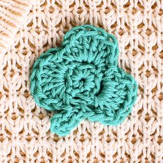 Small Clover Pattern ... Perfect for St. Patrick's Day - Petals to Picots