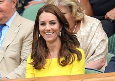 Pin for Later: The Duchess of Cambridge Brings a Whole Lot of Sunshine to Wimbledon