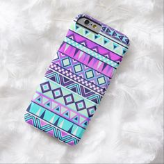 Cute iPhone 6 Case! This Aztec inspired pattern iPhone 6 case can be personalized or purchased as is to protect your iPhone 6 in Style!